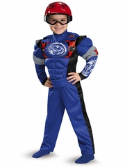 Race Car Driver Muscle Costume