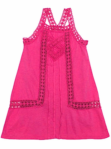 Ragdoll & Rockets Kate Fuchsia Lace Dress