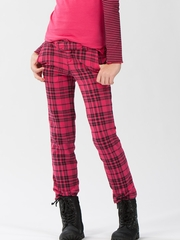 Ragdoll & Rockets Poppy Pink Plaid Boy Chino
