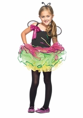 Rainbow Bug Girls Costume by Leg Avenue