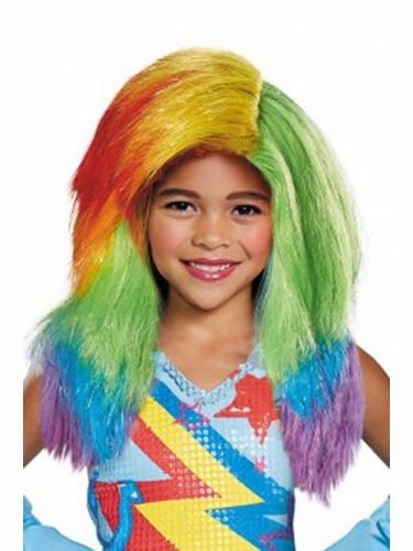 Rainbow Dash Movie Child Wig