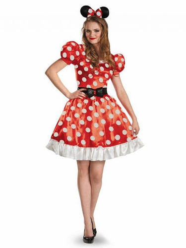 Red Minnie Classic Adult