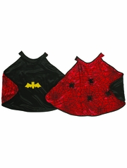 Reversible Spider/Bat Cape