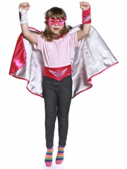 Reversible Super Girl Set