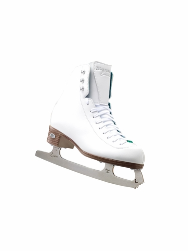 Riedell Ice Skates 19 Emerald Girls Shoes