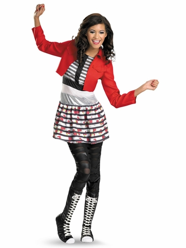 Rocky Deluxe Girls Costume