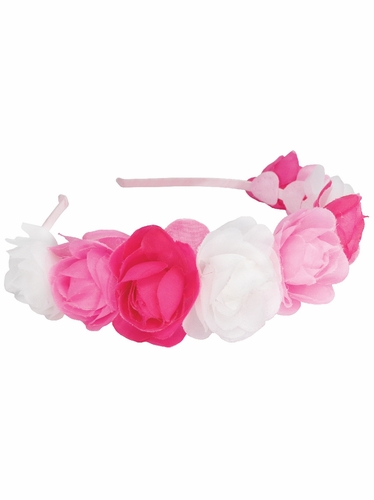 Rose Puff Headband