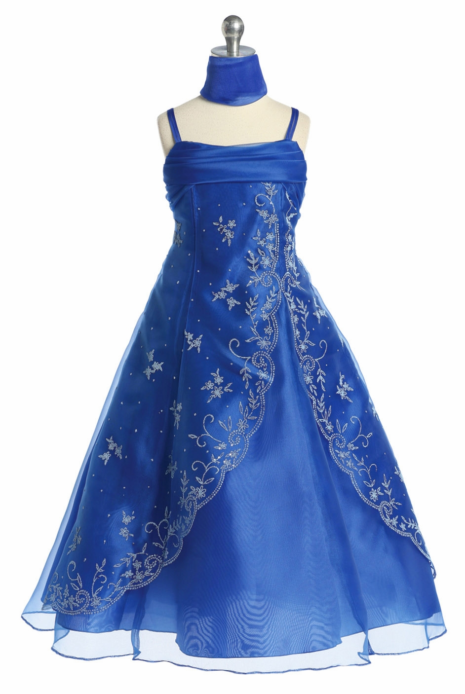 Junior bridesmaid dresses pinkprincess royal blue beaded a line special occasion dress ombrellifo Images
