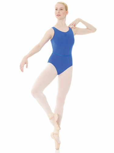 Mondor Royal Blue Pinched Front Royal Academy of Dance Leotard