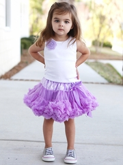 FLASH SALE: RuffleButts Lavender Pettiskirt