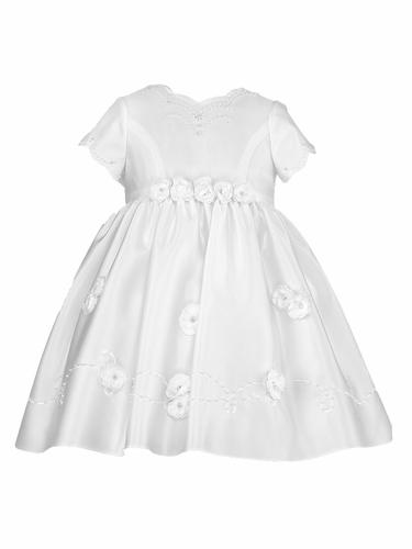 Sarah Louise White Rosette Ceremonial Dress