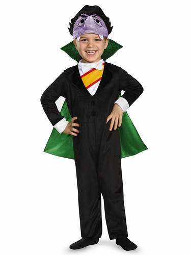 CLEARANCE - Sesame Street Count Deluxe Costume
