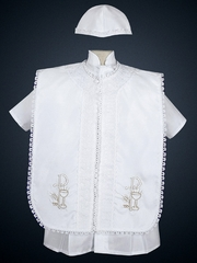 Boys' Shantung Christening Outfits