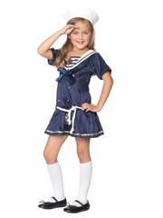 Shipmate Cutie Sailor Child Costume for Girls