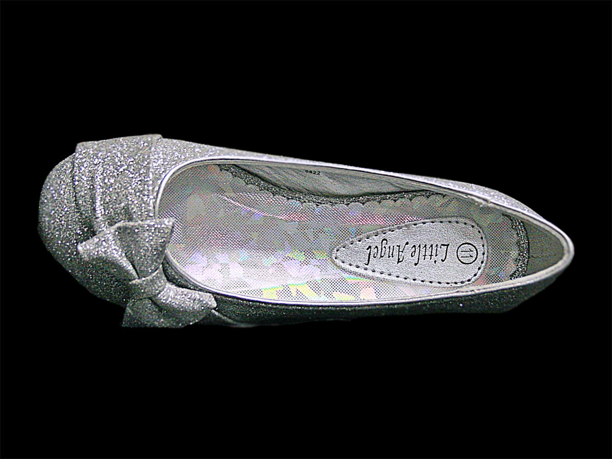 SOBEYO Girls Mary Jane Pumps Glitter Rhinestone Dress Shoes Silver. Sold by K Stores USA. $ $ Dance Class Girls Pink Leather Outsole Satin Bow Glitter Ballet Shoes 2 Baby Kids. Sold by Sophias Style Boutique Inc. $ $