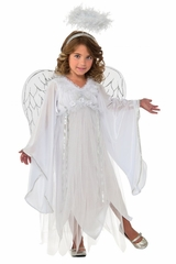 Silvery Angel Costume