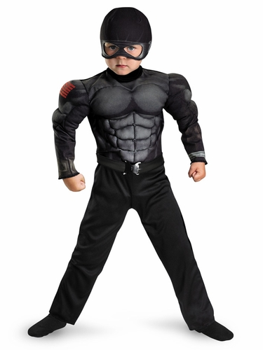 Snake Eyes Toddler Boys Costume