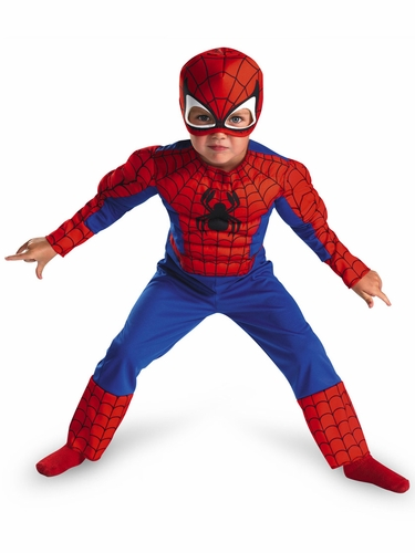 Spider-Man Toddler Muscle Kids Costume