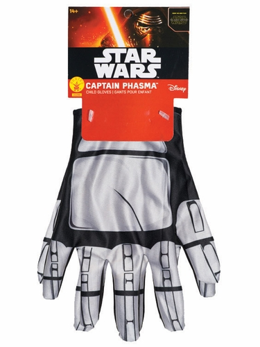 Star Wars Episode VII Captain Phasma Gloves- Child