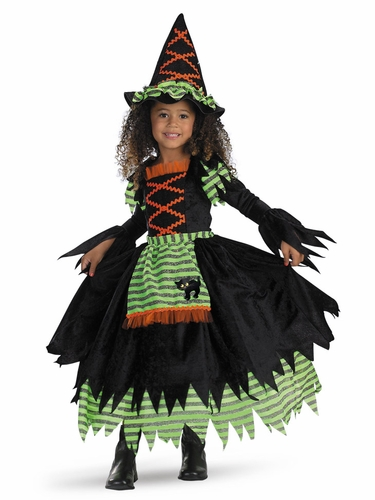 Story Book Witch Girls Costume