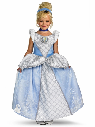 Storybook Cinderella Prestige Girls Costume