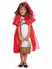 Storybook Red Riding Hood Girls Costume