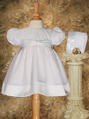 Sweet Organza Day Length Christening Dress