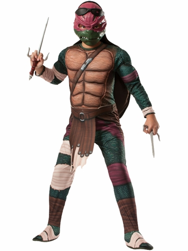 Teenage Mutant Ninja Turtles The Movie Deluxe Raphael Costume