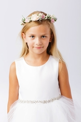 Tip Top Kids 115 Pink Floral Crown