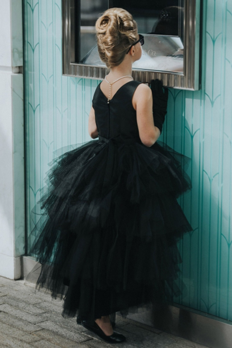 3a01077cbb ... Tip Top Kids 5658 Ruffled Tulle High Low Dress. Click to Enlarge Click  to Enlarge