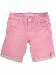 CLEARANCE: Tractr Jeans Pink 5 Pocket Basic Bermuda Shorts