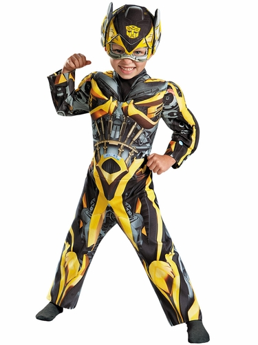 Transformers Bumblebee Toddler Muscle Costume