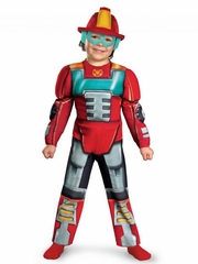 CLEARANCE - Transformers Heatwave Rescue Bot Muscle Costume