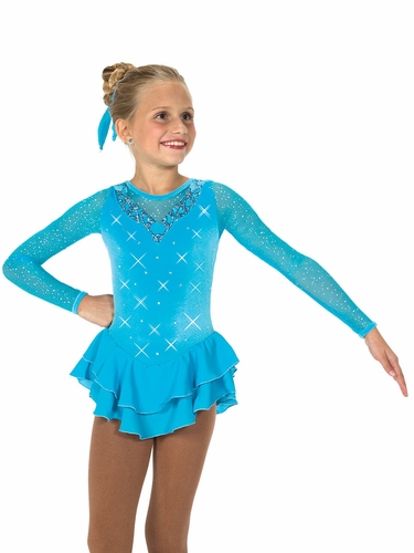 Jerry's Turquoise Crystal Waters Dress