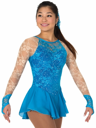 Jerry's 73 Turquoise Lace Every Place Dress