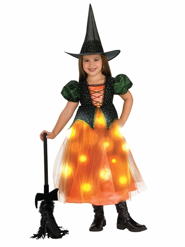 Twinkle Witch Light Up Costume