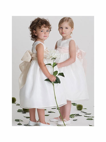 US Angels 409 Flower Girl Dress Communion Dress