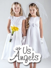 Us Angels Communion Dresses