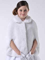 US Angels Faux Fur Cape