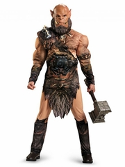 Warcraft Orgrim Deluxe Muscle Adult