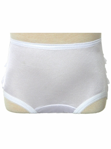 White Rhumba Ruffle Girl Panties