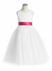 White Graduation Dresses for Kindergarten
