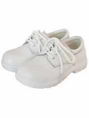 White Smooth Boys Formal Dress Shoes