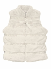 Widgeon Ivory Vest w/ Ribbon