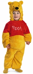 Winnie The Pooh Deluxe Two-Sided Plush Jumpsuit
