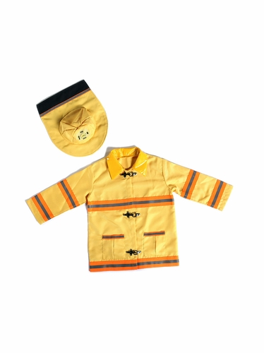Yellow Fireman Set w/ Soft Hat