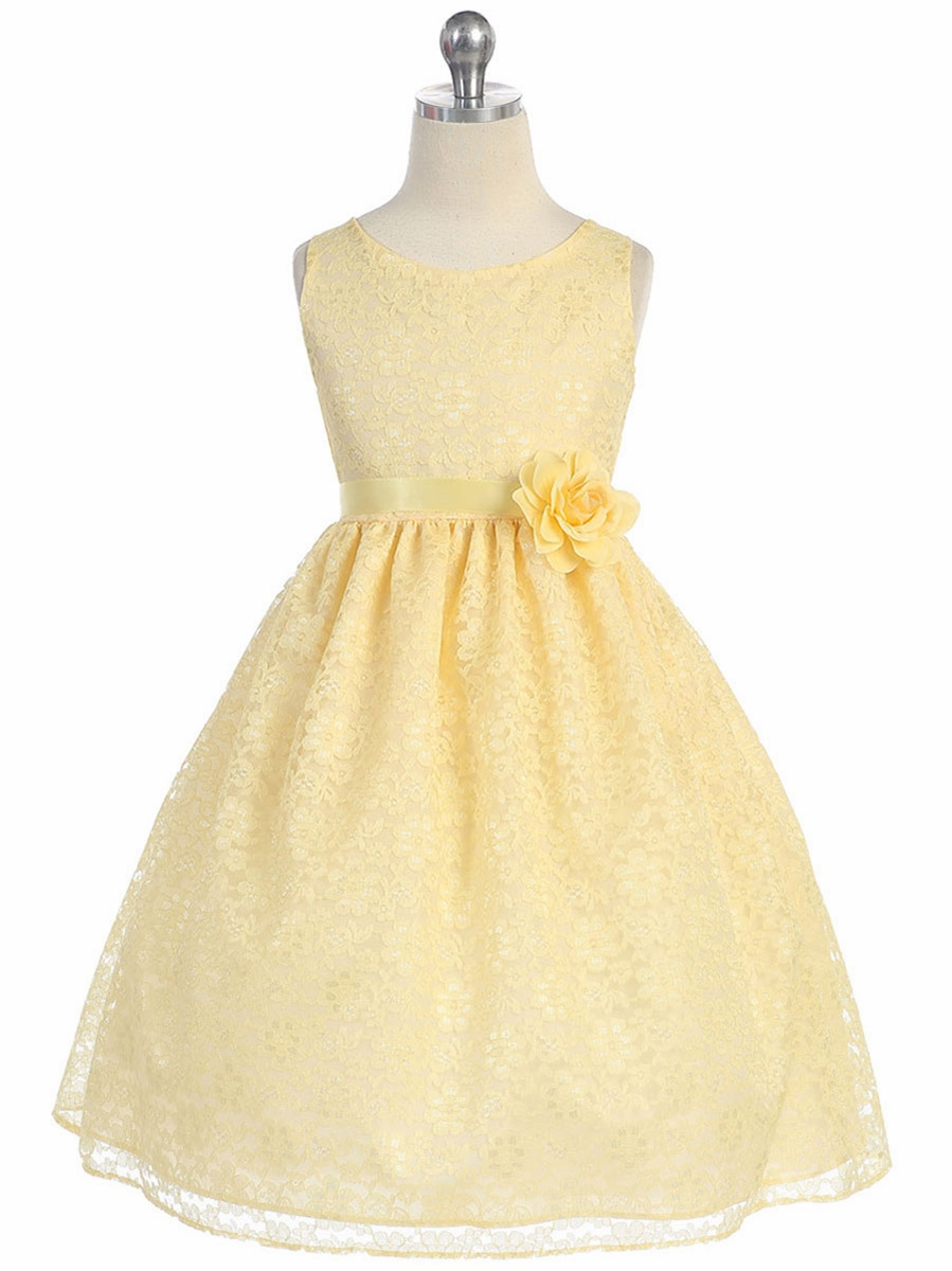 31d8f331226a ... Yellow Floral Lace Dress. Click to Enlarge ...