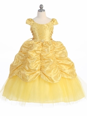Yellow flower girl dresses pinkprincess yellow flower girl dresses mightylinksfo