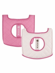 ZUCA Flyer Seat Cushion - Hot Pink/ Pale Pink