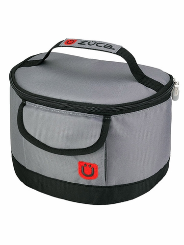 ZUCA Lunchbox –  Gray/Red